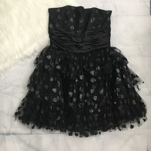 Betsey Johnson Two of Hearts Dress in Black
